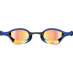 arena Cobra Ultra Mirror Gafas, yellow revo-blue